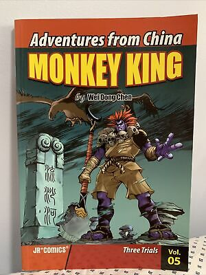 Adventures from China Monkey King vol 5 Three Trials Wei Dong Chen & Chao Peng