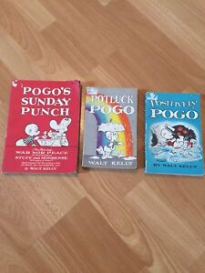 1950's Pogo Books by Walt Kelly