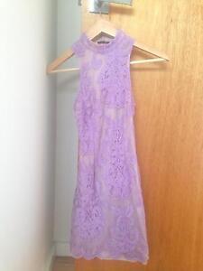 CITY BEACH SIZE 6 dress semi formal purple pastal Greenslopes Brisbane South West Preview