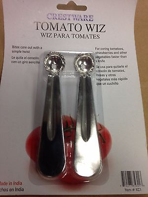 Set Of 2 Tomato Pro Corer Vegetable Remover Decorer Pepper Chili Potato Bud Spot