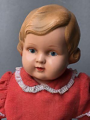 Celluloid Zelluloid Charakter Mädchen Spielzeug Puppe Minerva Buschow&Beck ~1940