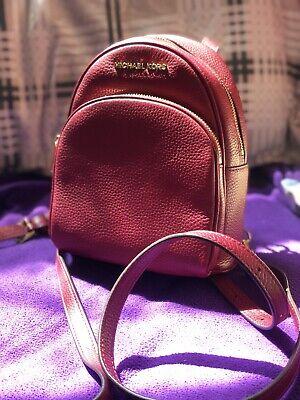 michael kors Pink leather mini backpack hand bag
