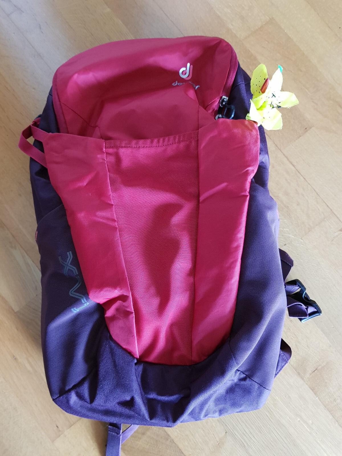 Deuter Rucksack Damen XV 1 sl, cranberry-aubergine *wie neu*