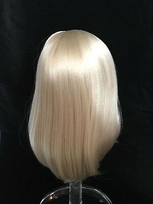 """Doll wig size 10-11, 10"""" long Blonde (108)"""
