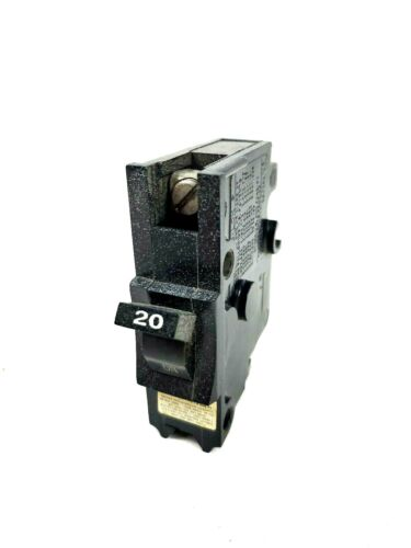 Federal Pacific FPE Stab-Lok Breaker 1 Pole 20 Amp Type NB 120V Thick Bolt on
