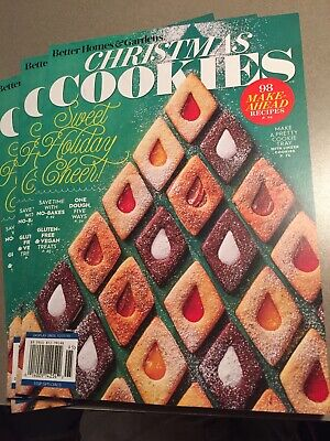 Better Homes & Garden Christmas Cookies Special Magazine 2019 Sweet Holiday! ()