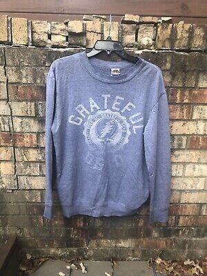 Authentic Grateful Dead Brand Gray Band Sweatshirt 2011 -
