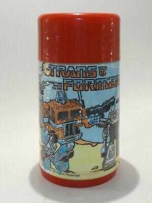 Vintage 1984 Aladdin TRANSFORMERS Thermos Hasbro