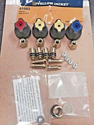 Yellow Jacket Brute Ii Rebuild Kit Refrigeration Gauge Ritchie Part 41083