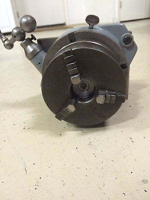 6 Inch Rotary Table With 5 Inch Chuck