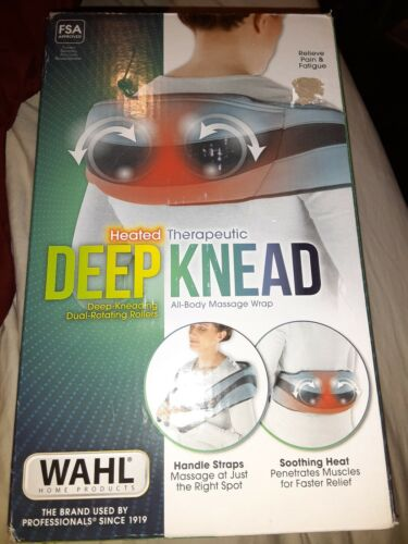 Wahl Heated Deep-Knead Massage Wrap Therapy Pain Relief , New In Box. R173 - $20.00