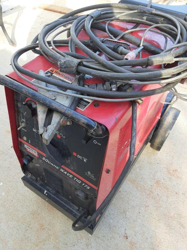 LINCOLN ELECTRIC Arc-Tig Welder TIG 175 Used