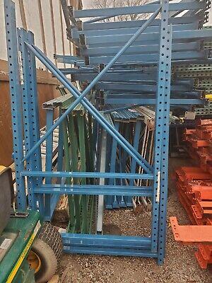 Teardrop Pallet Rack Shelving Racking Sections Scaffolding One Upright 70x42