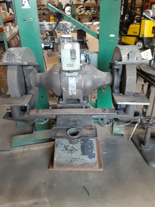 PEDESTAL grinder Very Large Made IN USA