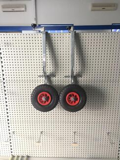 2 x Galvanised jockey wheel Beecher Gladstone City Preview