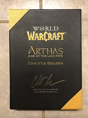 World of Warcraft: Arthas Rise of the Lich King, Signed & Numbered (World Of Warcraft Rise Of The Lich King)