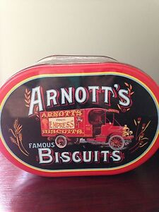 Arnotts biscuit tin Tea Tree Gully Tea Tree Gully Area Preview