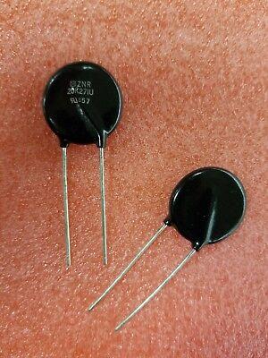 50x Panasonic Znr20k271u Erz-v20d271 Mov 225vdc 175vac Rms 270v 10 Ka Varistor