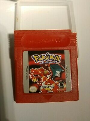 Pokemon Red Version Nintendo Game Boy Color GBC, read""