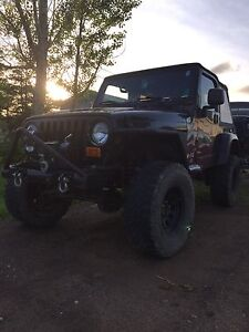 2003 Jeep tj needs tlc