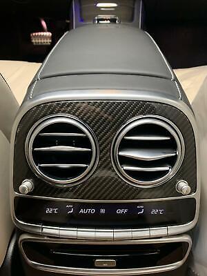 Carbon Abdeckung Blende Lüftung Für Mercedes Benz S Klasse W222 S500 S63 S65 AMG