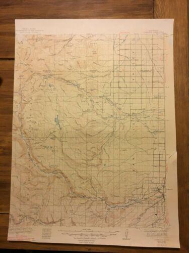 Conejos Quadrangle Rio Grande National Forest USGS topo map 1949 15-minute