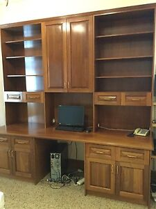 Study wall unit Woolwich Hunters Hill Area Preview