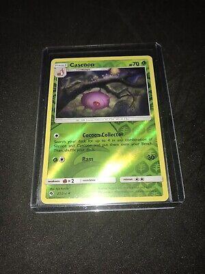 Lost Thunde 27//214 Uncommon 4x Cascoon Reverse Holo NM-Mint Pokemon SM10