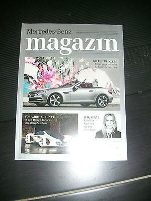 Mercedes Magazin 1/2011 - SLK, Design Labors von Mercedes-Benz, Karolina Kurkova