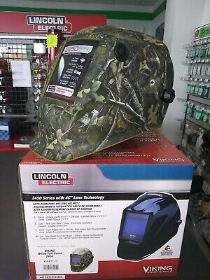 Welding Helmetcamouflage Graphicgreen K4411-3 White Tail Camo