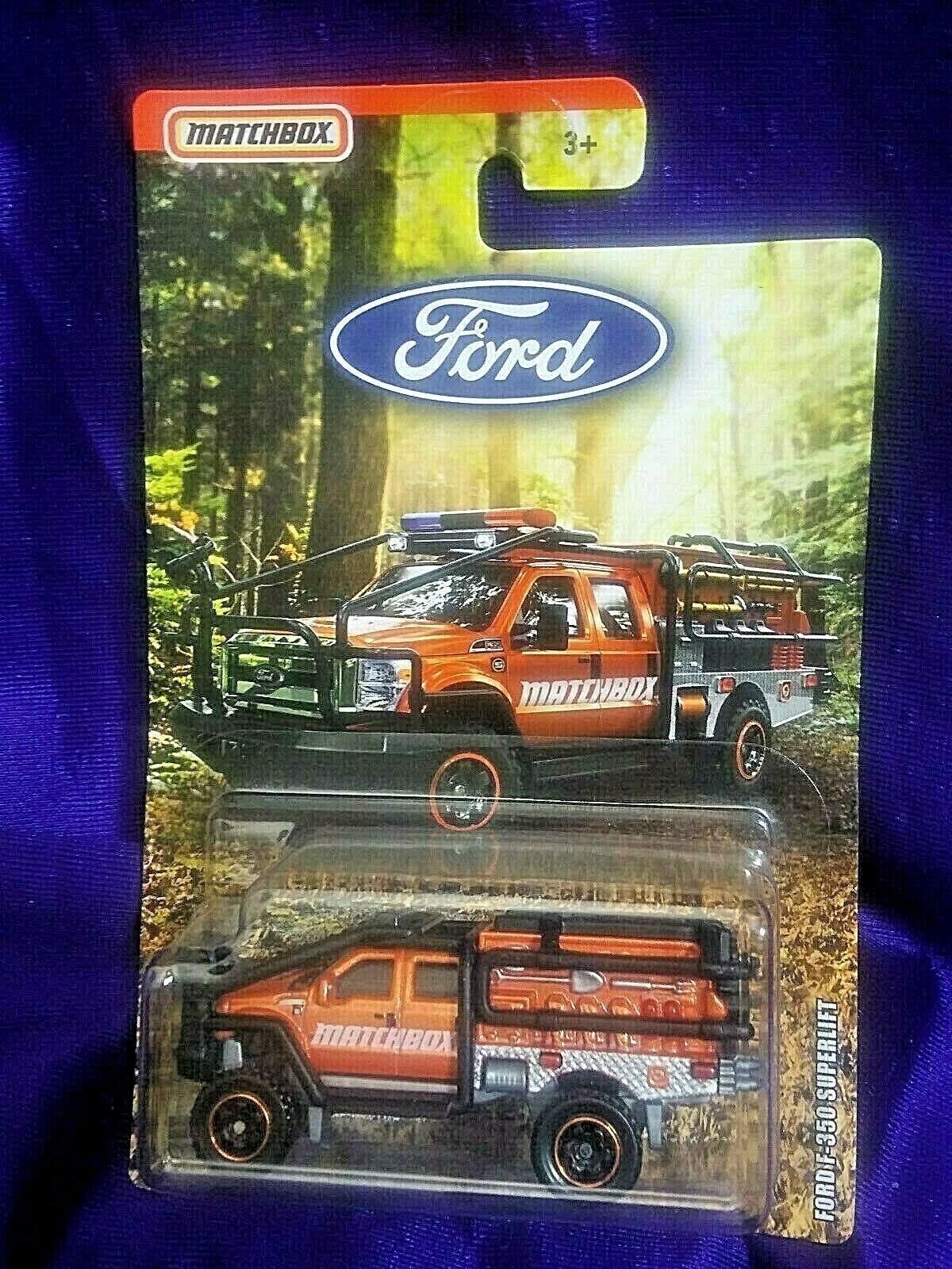 Matchbox Ford F-350 Superlift Truck Diecast 1:64 Scale Ford Series Mattel Boys