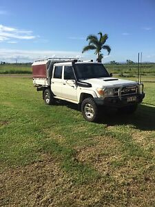 2012 GXL Twin Cab Toyota Landcruiser Proserpine Whitsundays Area Preview