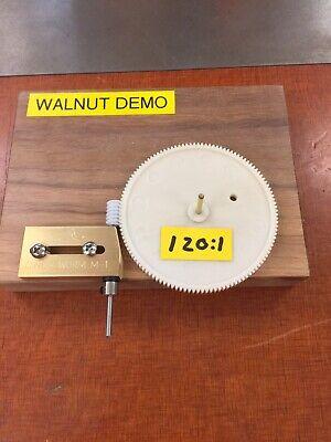 Worm Gear Set 2mm Out Shaft Diy Maker Adjustable Brass Cinch-worm Bracket 1201