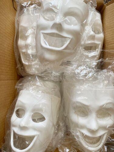 Creativity Street PM4209 Plastic Mask, Happy Face 37 Mask LOT Brand NEW