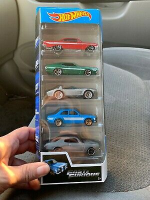 Hot Wheels Fast and Furious 5 pack 61 Impala '72 Gran Torino Escort Chevelle SS