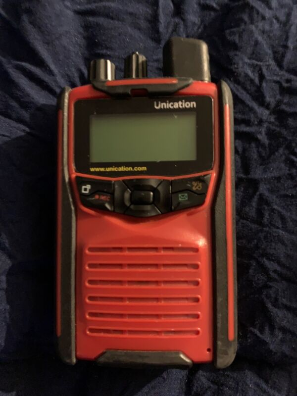 UNICATION G1 LOW BAND PAGER RECEIVER SCANNER WITH CHARGER