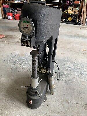 Clark Hardness Tester Model Mc12