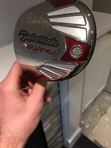 Men's Left Handed TaylorMade Burner Driver Head 9.5