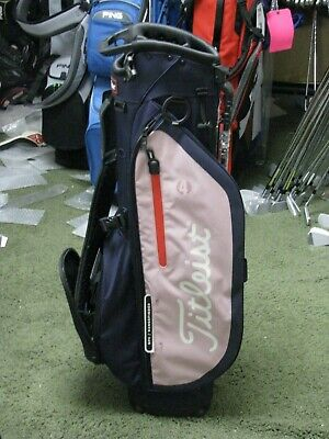 Limited Titleist Players 4 Golf Stand Bag Navy/Pink BRAND NEW w/TAGS FS!!