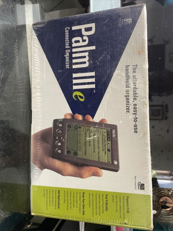 Palm III e Connected Organizer - New in Sealed Box