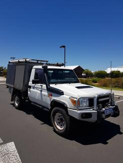 Toyota Landcruiser Cab Chassie Ute Australind Harvey Area Preview