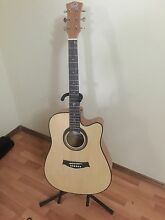 Steel String acoustic electric Guitar Bass Hill Bankstown Area Preview