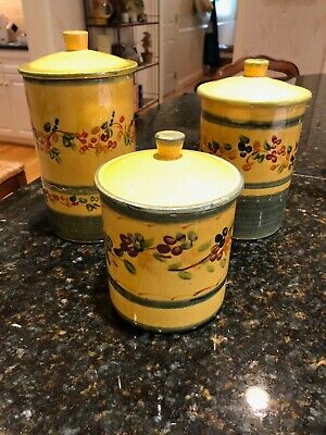 Souleo Provence canister set