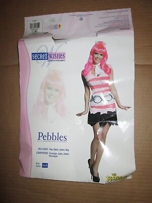 Womens PEBBLES from FLINTSTONES Halloween Costume  S Sm Secret - Pebble From Flintstones