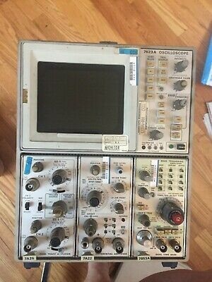 Tektronix 7623a Tube Oscilloscope - No Cord - Old School Manufacturing