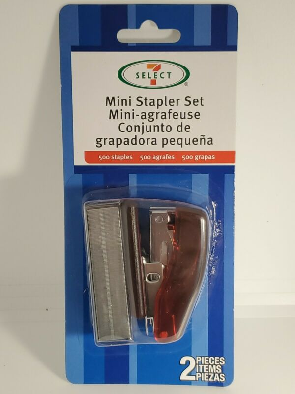 Mini Stapler Set With 500 Staples Great For Student