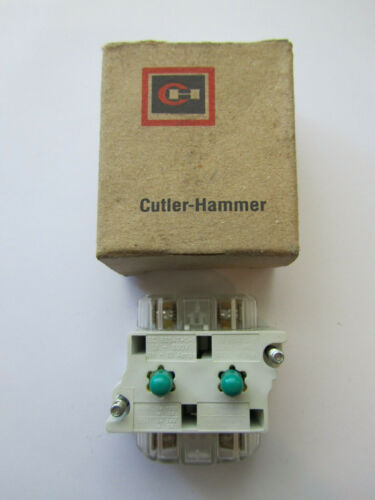 CUTTLER HAMMER 91000T2P CONTACT BLOCK NEW UNUSED