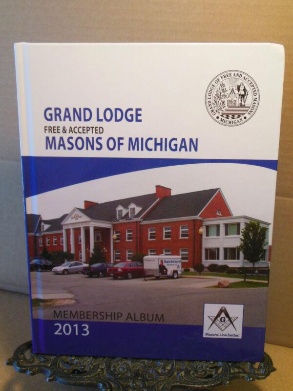 Grand Lodge Free Masons Michigan 2013 Membership Freemasons Masonic Genealogy