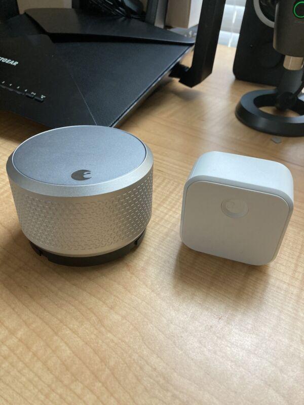August Smart Lock Pro (3rd Gen) + Connect Hub - Zwave, HomeKit & Alexa Comp.