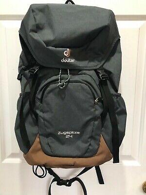 Deuter Backpack Zugspitze 24 Grey/Tan w/Rain (Backpack Rain Cover)